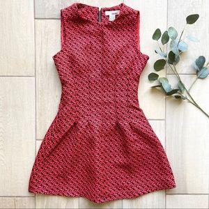 Sans Souci Geometric Print Sleeveless Mini Dress